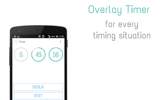 Overlay Timer -with other apps