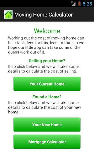 Moving Home Calculator