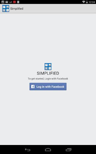 Simplified News Feed