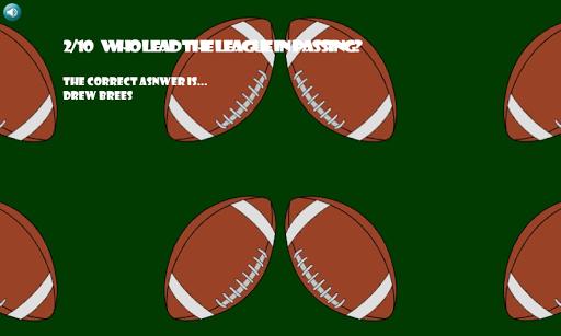 Football Trivia 2012