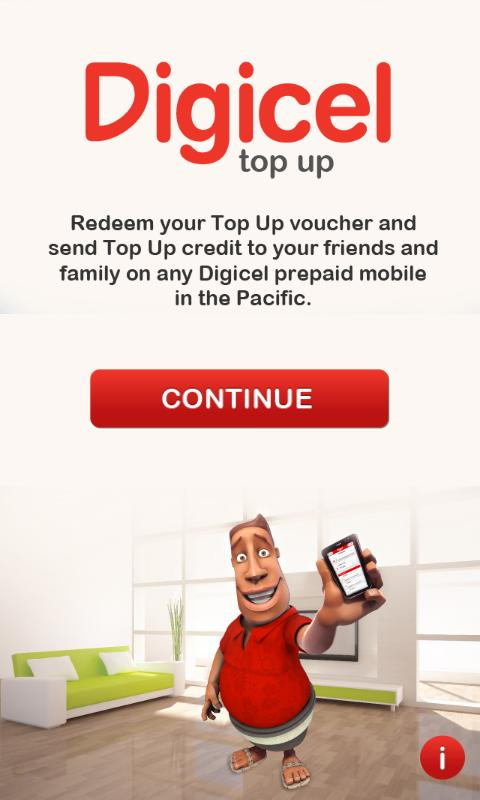 Digicel Top Up- screenshot
