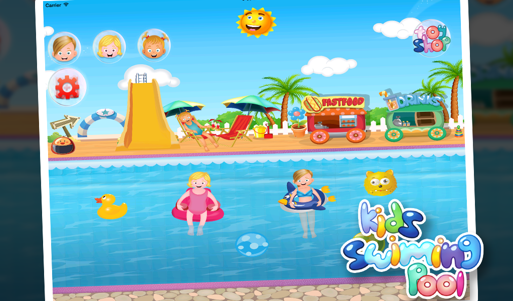 Kids Swimming Pool For Girls Android Apps On Google Play