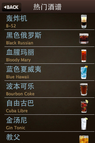 玩生活App|热门鸡尾酒配方免費|APP試玩
