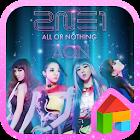 2NE1 AON LINE Launcher theme icon