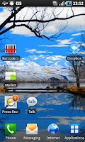 Screenshot of Lake Bridge Wallpaper Trial