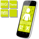 BIG! caller ID Theme MetroYllw icon
