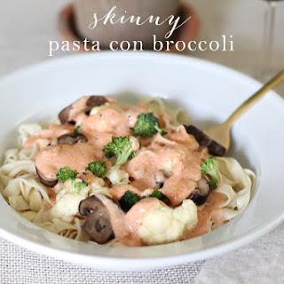 Skinny Pasta Con Broccoli
