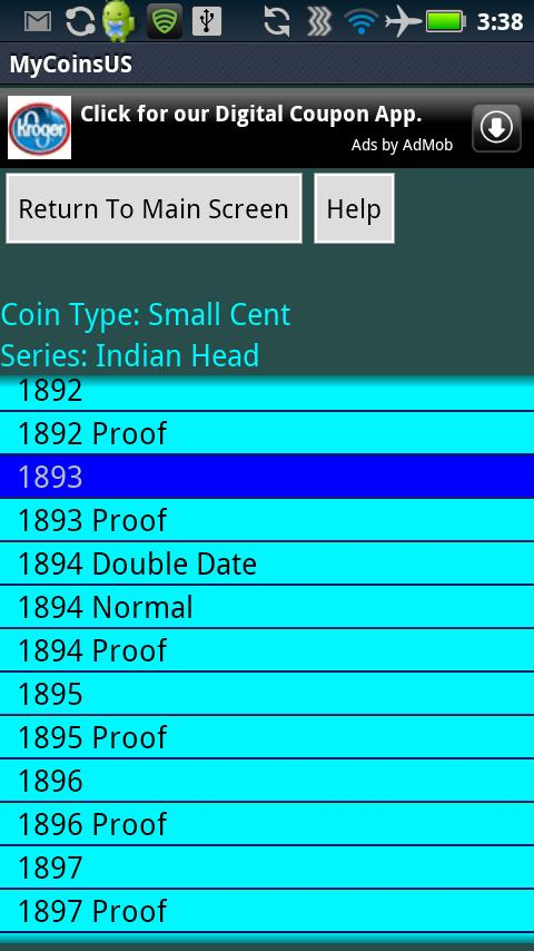 Coin Collecting - My US Coins- screenshot