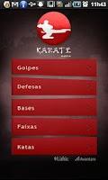 Screenshot of Karate Mobile