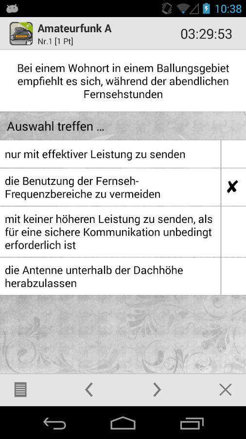 Amateurfunk - Klasse A - screenshot