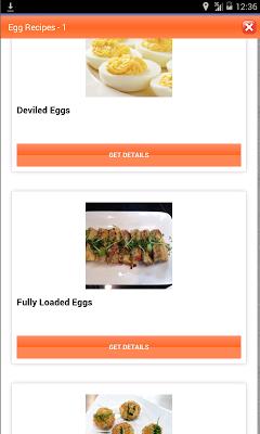 Egg Recipes & Foods - screenshot