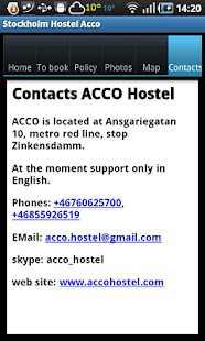 Stockholm Hostel ACCO - screenshot thumbnail