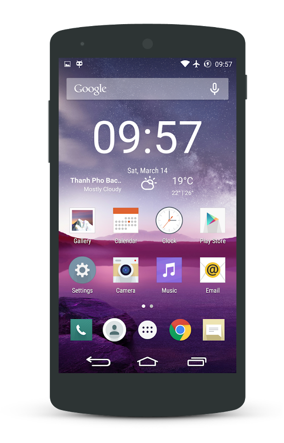 G3 Lollipop - CM12 Theme - screenshot