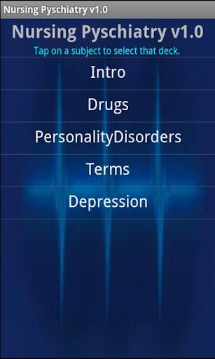 Nursing Psychiatry