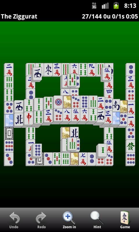Classic Mahjong - screenshot