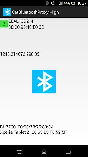 Cat Bluetooth Proxy High