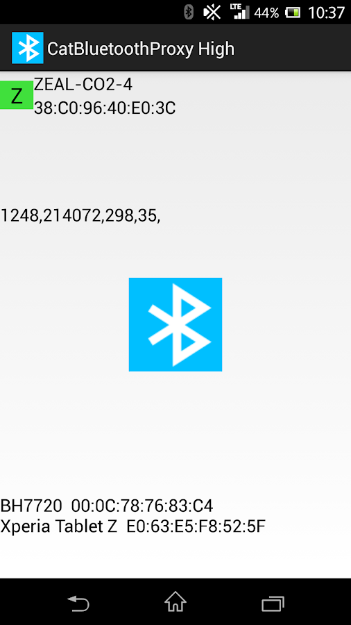 Cat Bluetooth Proxy High- screenshot