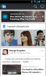 LinkedIn - screenshot thumbnail