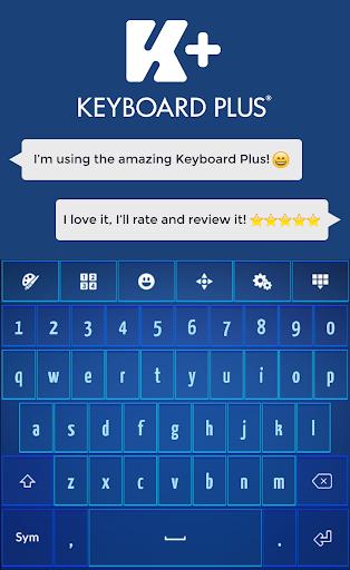 玩個人化App|Blue HD Keyboard免費|APP試玩