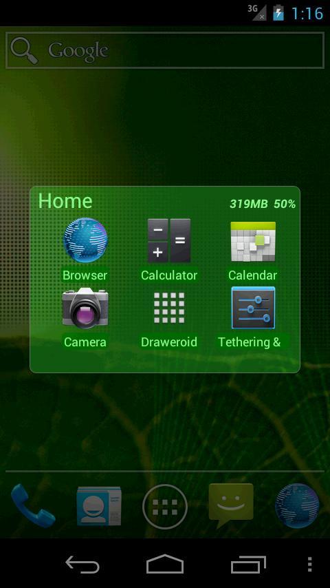 CallLauncher- screenshot