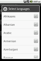 Screenshot of Web Translator Pro