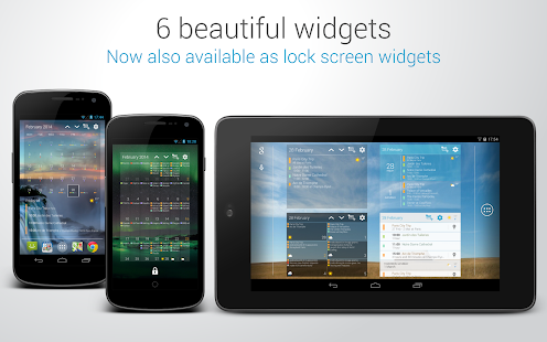 DigiCal+ Calendar & Widgets - screenshot thumbnail