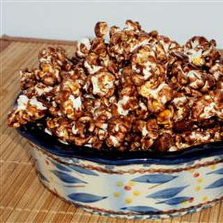 Chocolate Almond Popcorn.