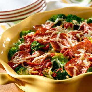 Pizza-style Broccoli.