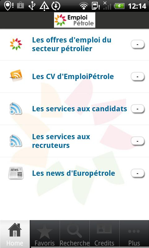 EmploiPétrole- screenshot