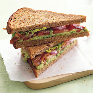 BLT with Avocado Spread.