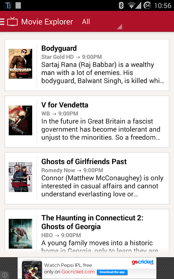 TV Guide India- screenshot