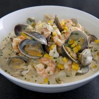Seafood Chowder Mash