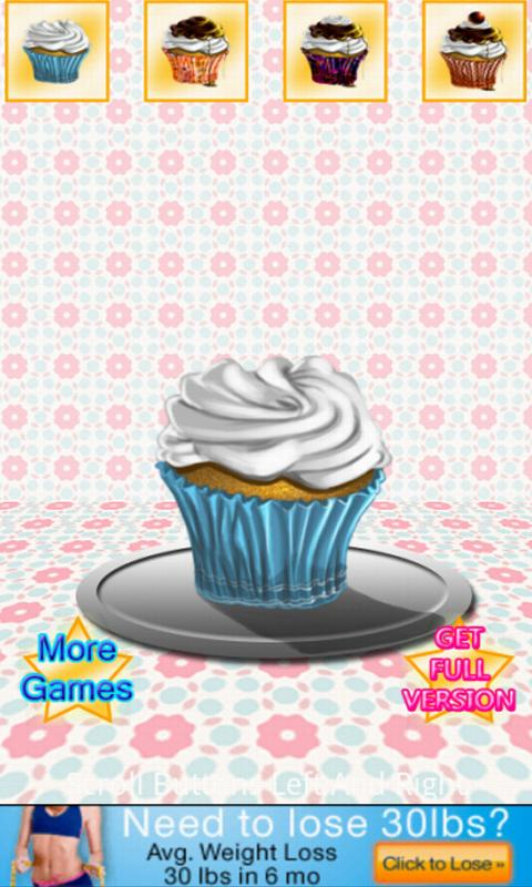 Pretty Cupcake Maker Lite - screenshot