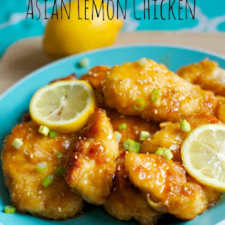 Asian Lemon Chicken.