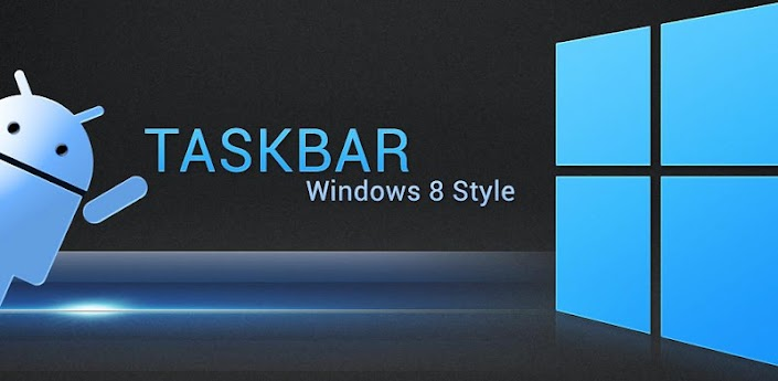 Taskbar - Windows 8 Style
