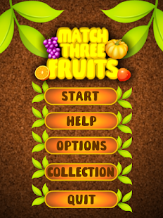 Match Three Fruits - Free