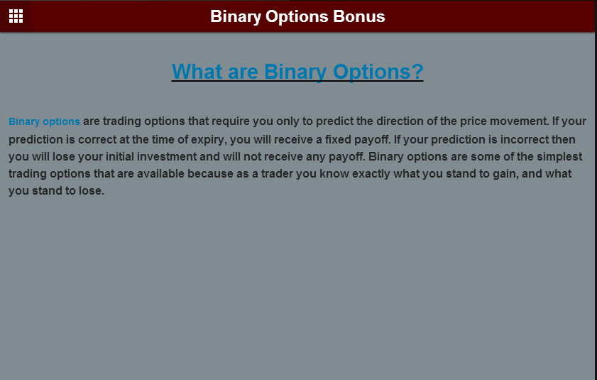 Top rated binary options brokers 2015
