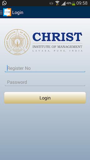 CIM Lavasa Student App