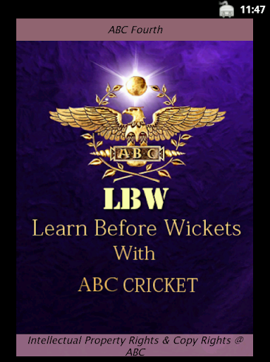 ABC Cricket Sixth