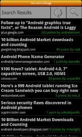 Hacker News Reader Screenshot 3