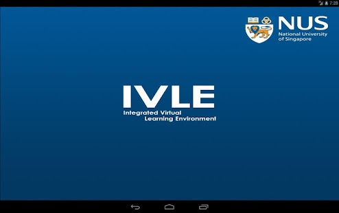 NUS IVLE- screenshot thumbnail