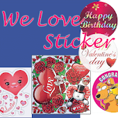 We Love Sticker-Facebook