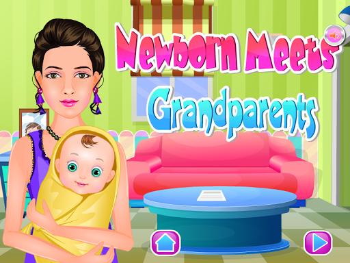 新生兒護理寶寶遊戲