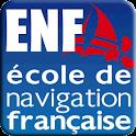Permis bateau côtier ENF logo