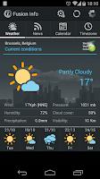 Screenshot of Weather and News Info Widget