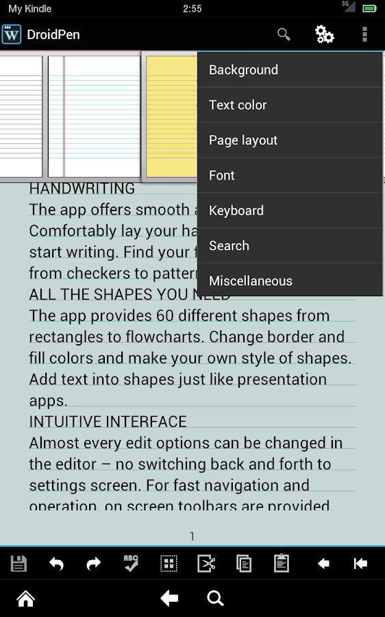 xWriter Free 4 - screenshot