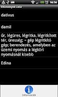Screenshot of Szotarak