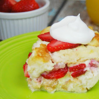 Angel Food Cake French Toast Casserole