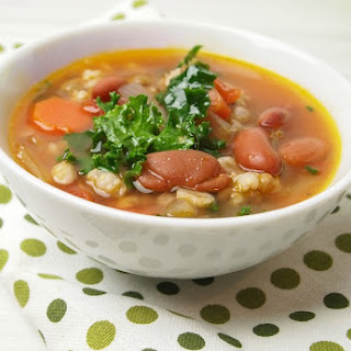 Barley Lentil Vegetable Soup