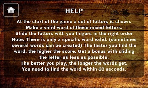 Word Game / Word Juggler - screenshot thumbnail